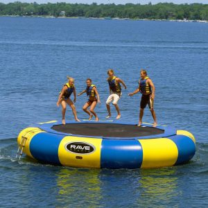 Island Hopper 10' Bounce N Splash Padded Water Trampoline